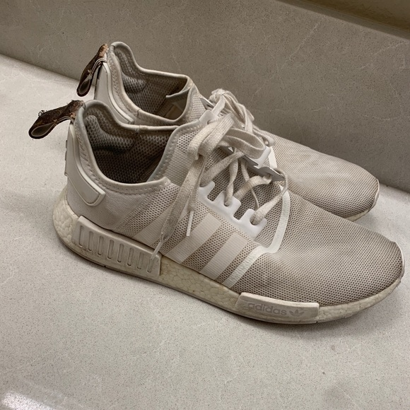 7f5becbfdc3 Adidas NMD R1 with modified Louis Vuitton Strap